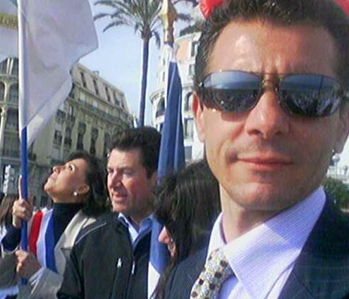 Déplacement Maire de Nice