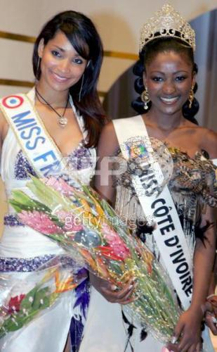Election miss france et miss côte d'ivoire