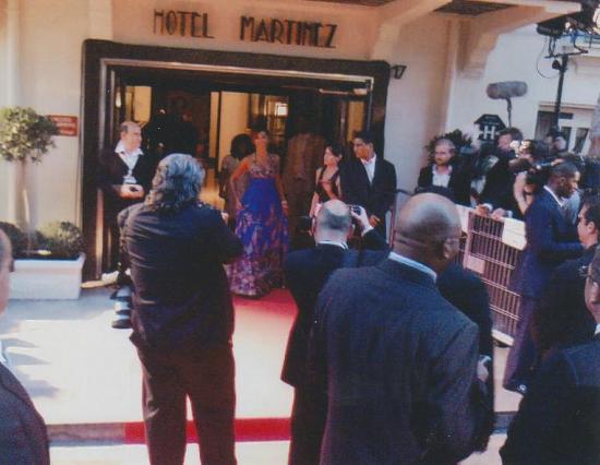 sécurité Beyoncé Cannes