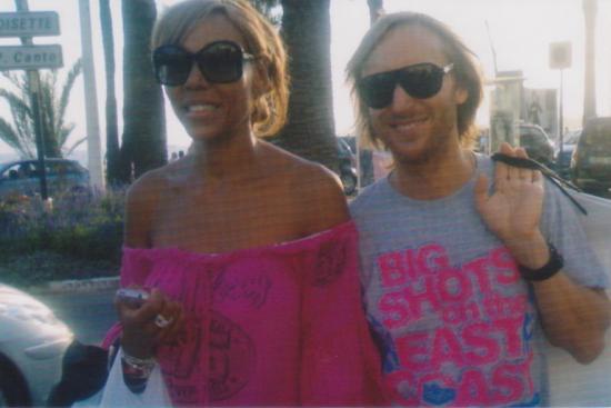 hieronimus sonny accompagnement privé David et Cathy Guetta