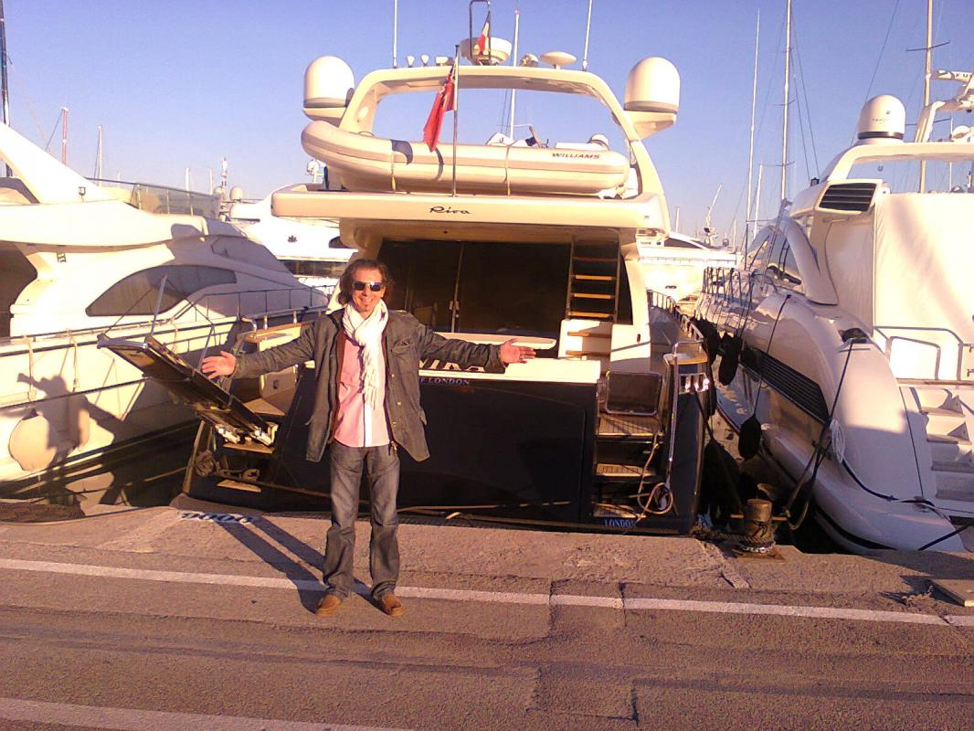 hieronimus sonny location yacht de luxe pour events en côte d'azur france