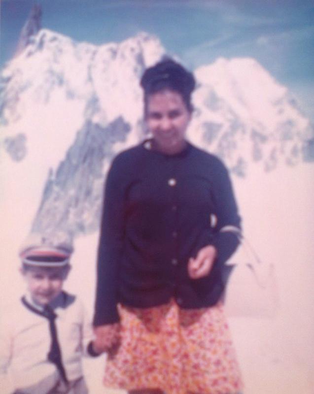hieronius sonny jlouis a la decouvrete du mont blanc avec maman