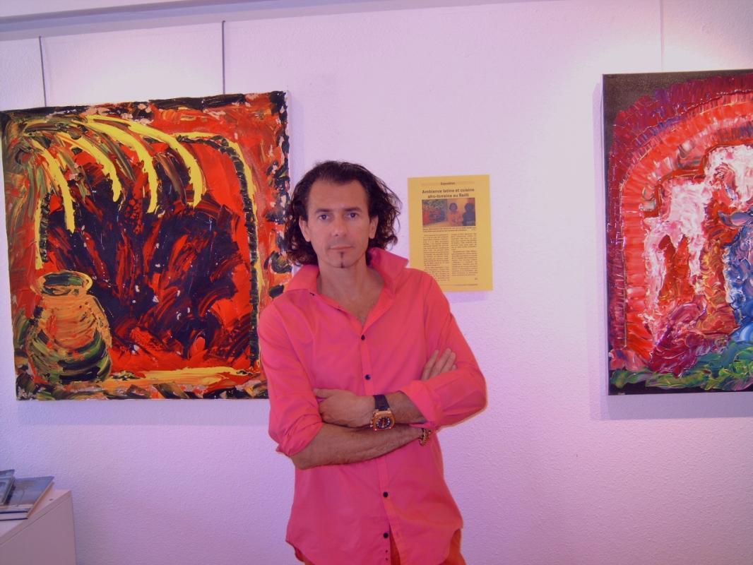 sonny hieronimus artiste au couleurs caraibes