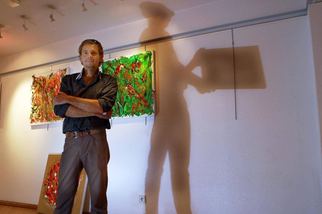 Sonny hieronimus exposition de l'ombre a la lumiére